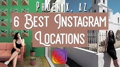 6 AMAZING Phoenix Arizona INSTAGRAM Locations || Travel Guide