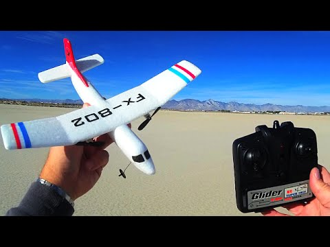 Radio Controlled And Gliding Over >> Fx802 The World S Easiest And Cheapest Rc Airplane Glider