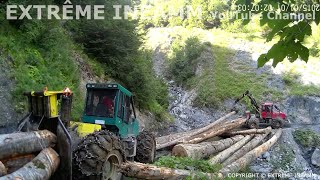 materiel forestier video de l'extreme