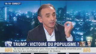 Débat Zemmour/Glucksmann (10/11/2016) - intégral