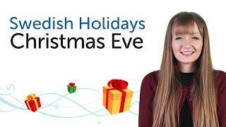 Learn Swedish Holidays - Christmas Eve