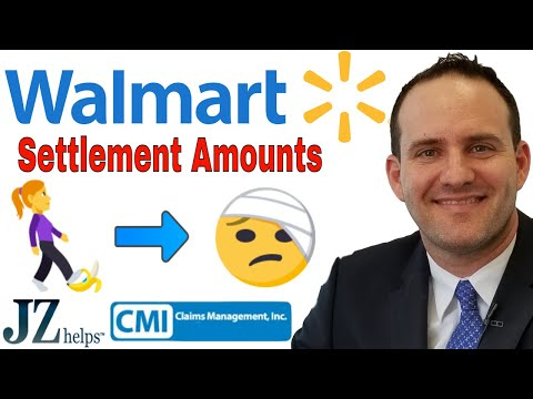 Hurt at Walmart? Accident and Injury Claims and Settlements
