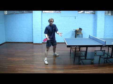 Table Tennis - Forehand & Backhand Loop Technique - Discussion