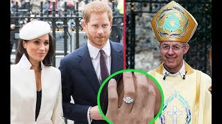 The Archbishop of Canterbury Is Nervous for Harry and Meghan's Wedding: