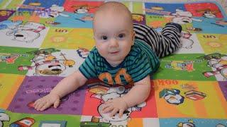 Переворачивание ребенка с живота на спину и наоборот - Nik VAN(Здравствуйте! В этом видео Вы увидите, как ребенок переворачиваться с живота на спину и наоборот. Переворач..., 2016-04-07T09:56:07.000Z)