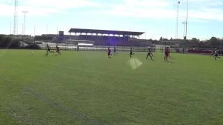 Jesper bij U13 Lierse: Moeskroen-Lierse 1-1