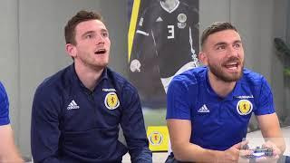 FIFA 19 | Andy Robertson & Robert Snodgrass v Scott McTominay & Stephen O'Donnell