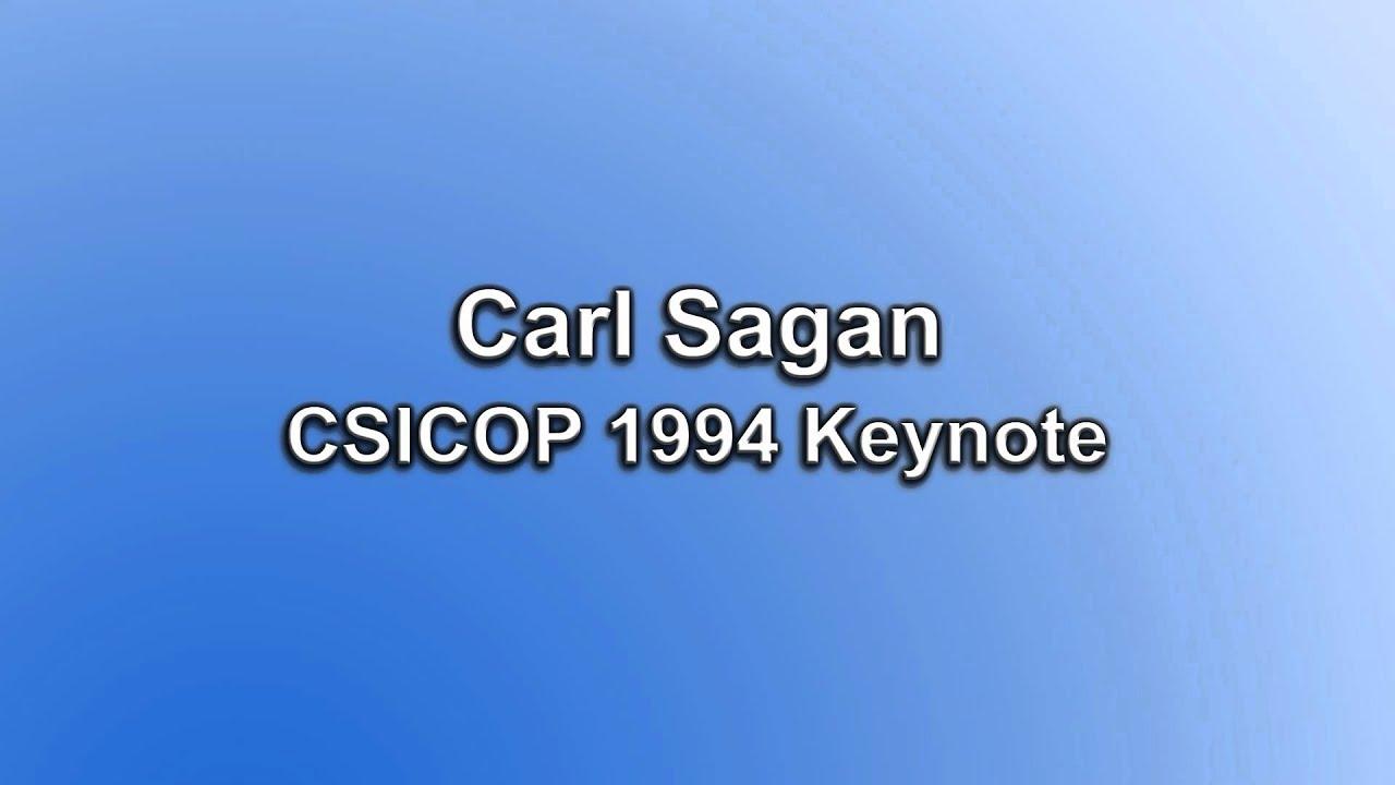 Carl Sagan's CSICOP 1994 Keyno...