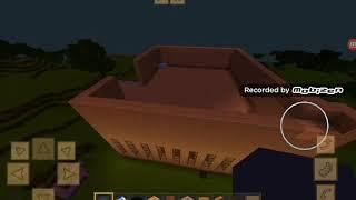 Minecraft city rozmawiamy z moimi zwierzętami i budujemy dach
