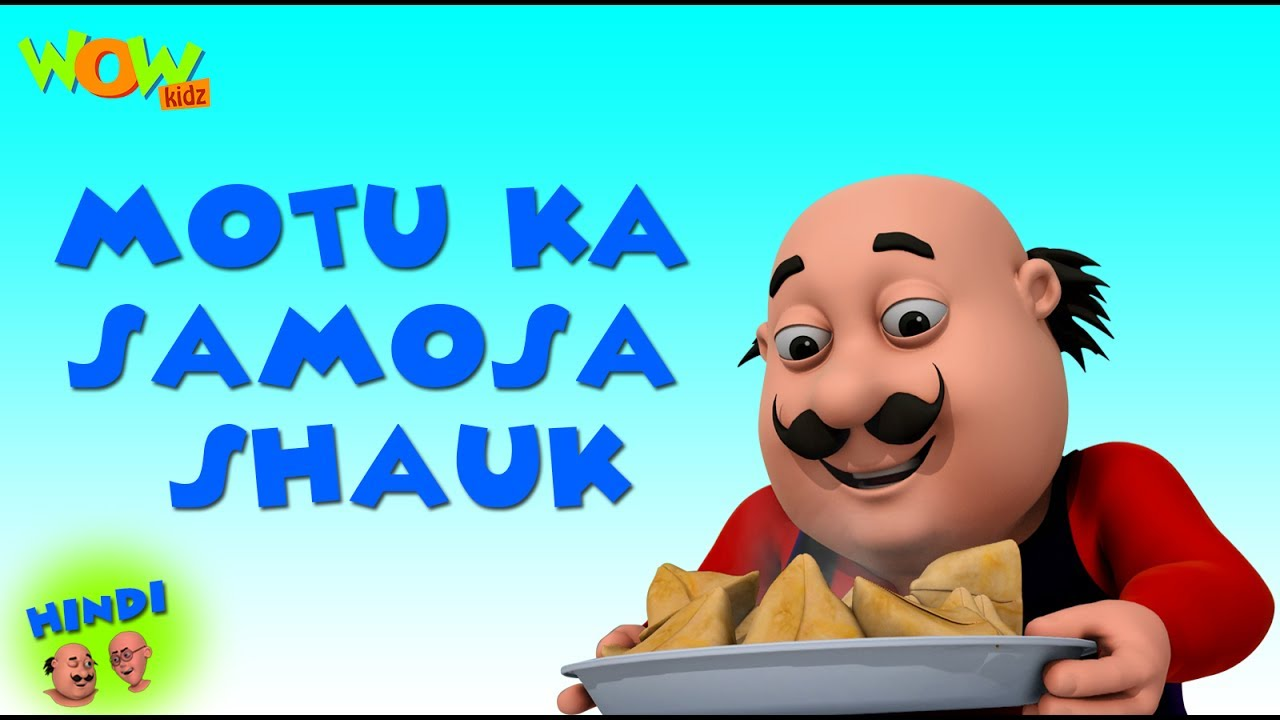 Motu Ka Samosa Shauk Motu Patlu In Hindi 3d Animation Cartoon