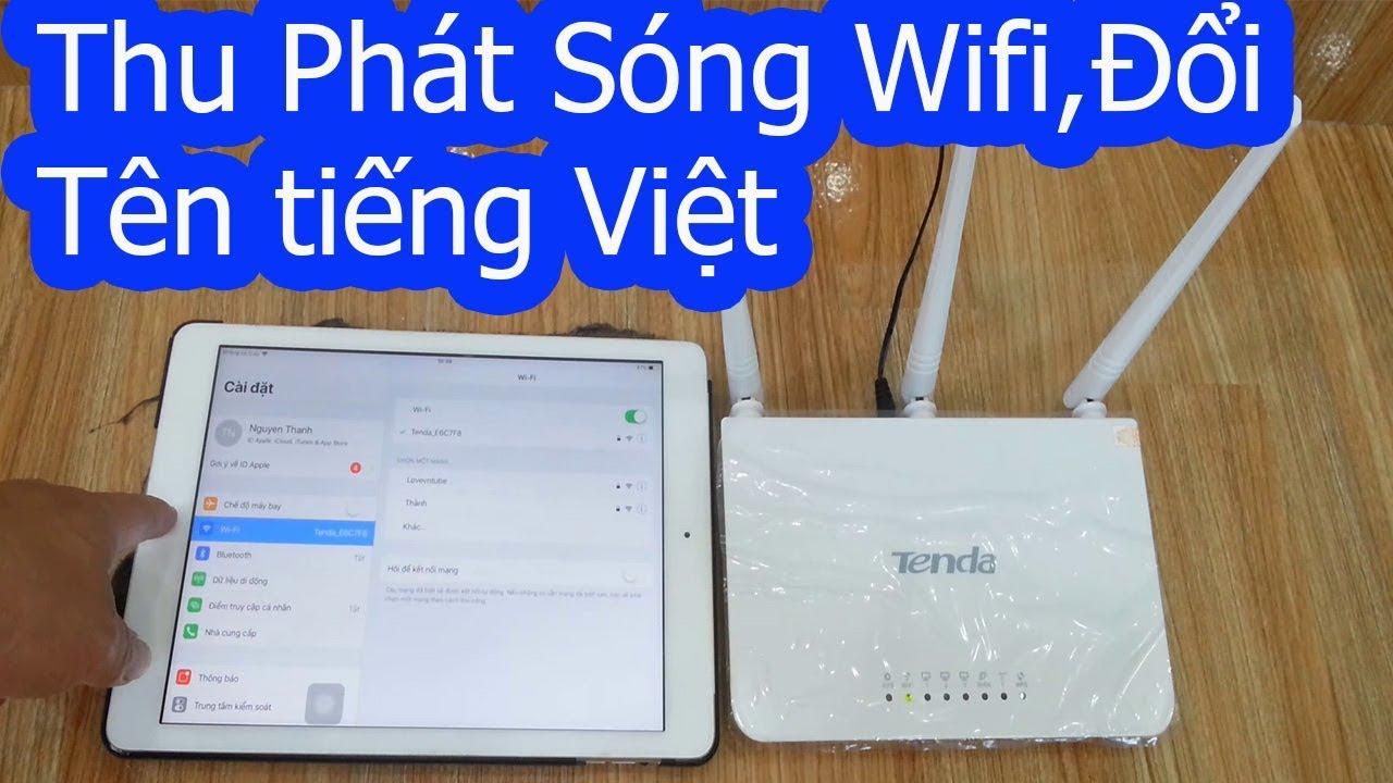 Bật mí cách sử dụng bộ phát wifi không dây Tenda F3