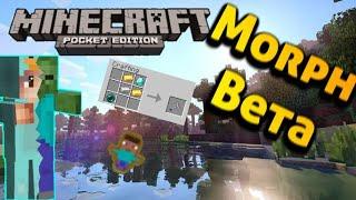 minecraft pe morph mod-Me convierto en zombie!!😲