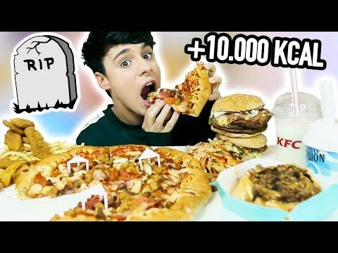 10.000 calorie MEAL CHALLENGE *mukbang*
