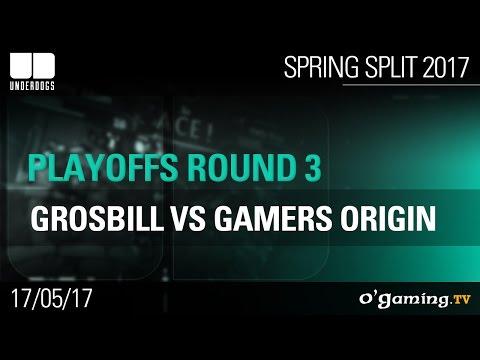 GrosBill vs Gamers Origin - Underdogs 2017 Spring Split - Playoffs Round 3 - League of Legends