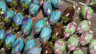 Bead Roller Hack to make Barrel Beads with Polymer Clay