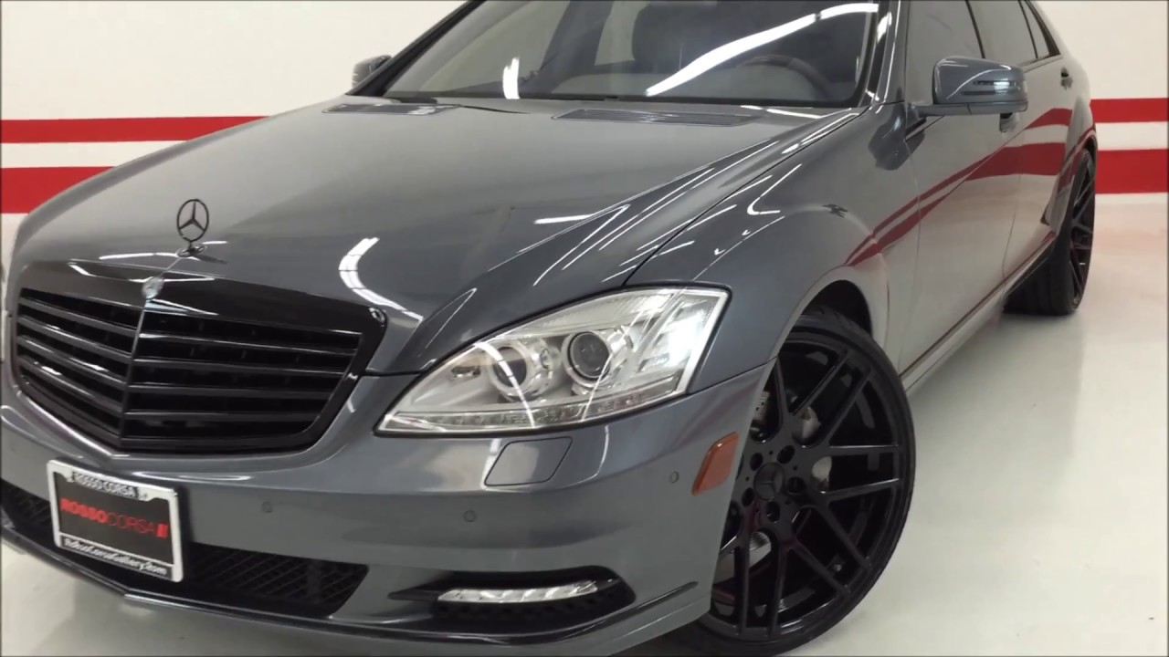 2010 Mercedes Benz S550 Custom Brand New 22 Wheels