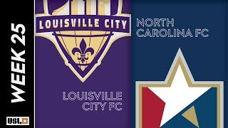 Louisville City FC vs. North Carolina FC: August 24th, 2019
