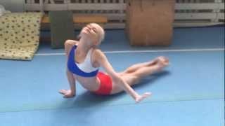 Легкая атлетика - упражнение морские котики