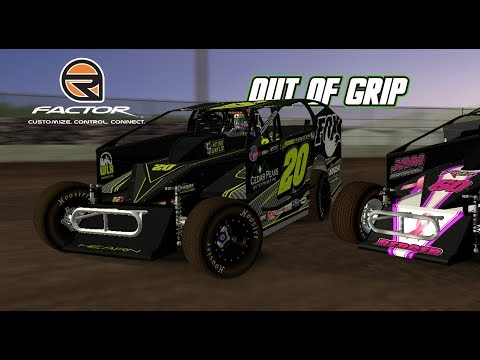 rFactor: Out of Grip! (Big Block Modifieds @ Fonda)