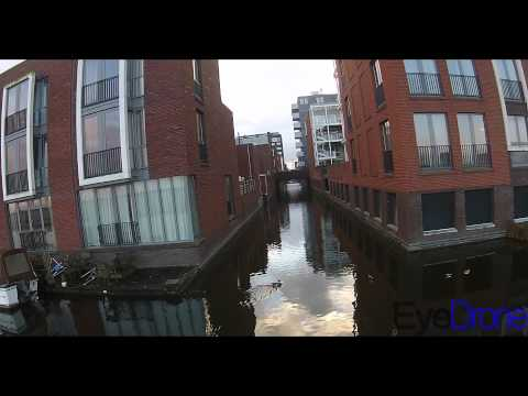 IJburg Amsterdam by drone