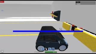 2013 KZ Quad Frontal Offset Crash Test-ROBLOX