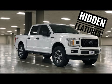 top 10 hidden features of the new f150