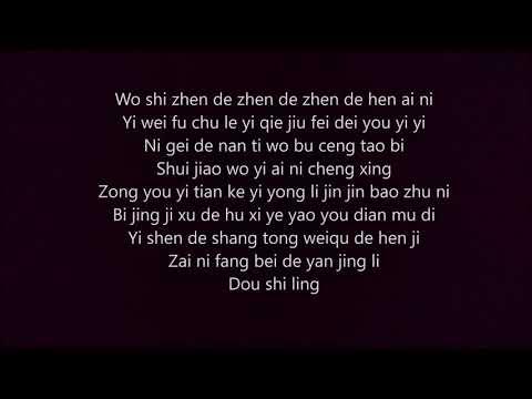 Jerry Yan - Wo Shi Zhen De Zhen De Zhen De Hen Ai Ni (Vocal Cover)