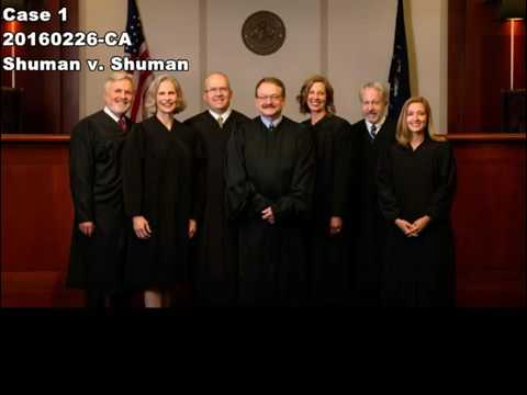 Utah Court of Appeals Live Streaming   May 8, 2017
