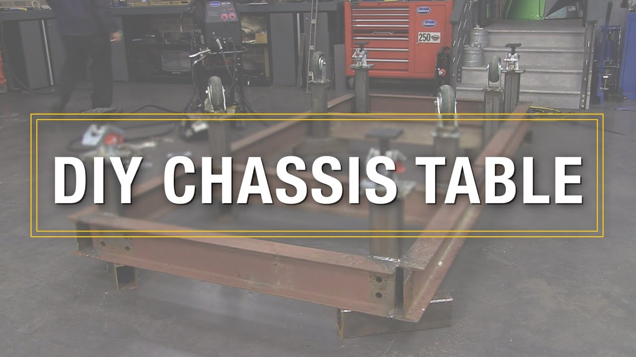 How To Build Diy Chassis Table Welding It All Together