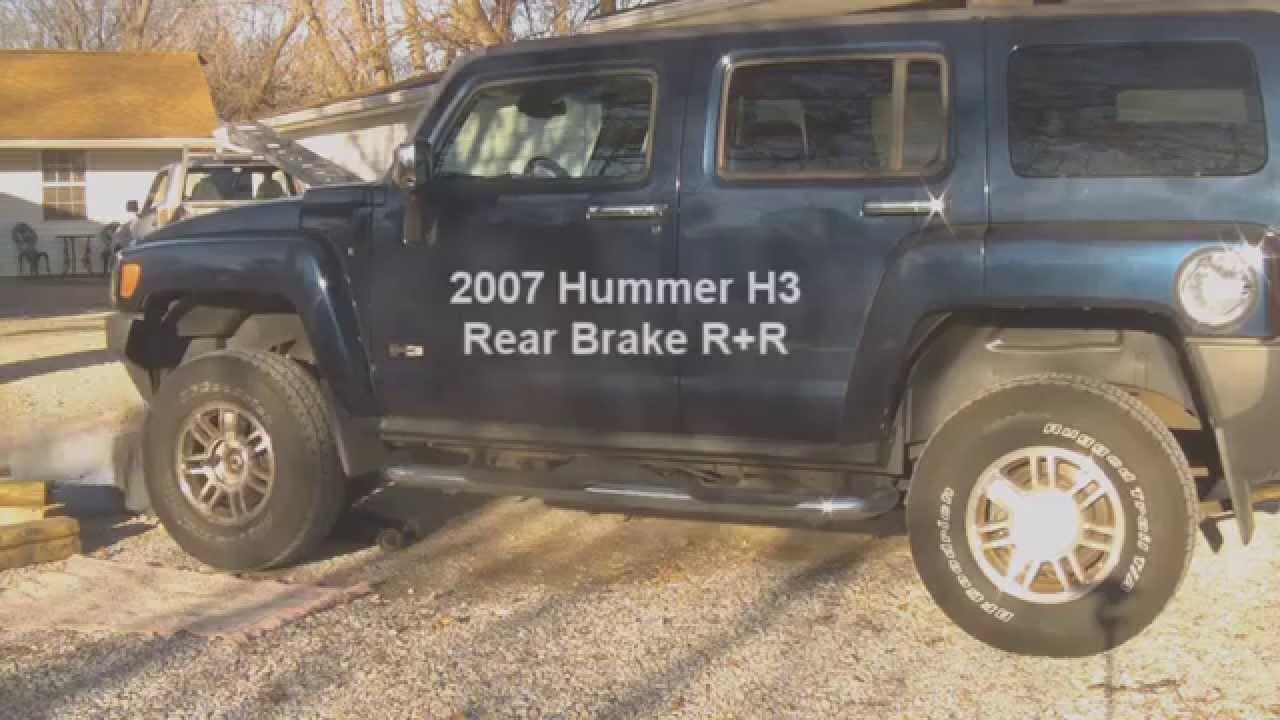 HUMMER H8 8 Rear Brakes R+R | hummer h3 brake pads