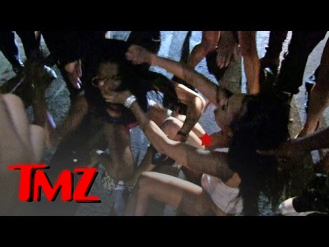 The Game -- BLOODY GIRL FIGHT ... After Nightclub Twerk-Off | TMZ
