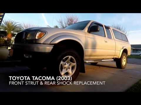 Toyota Tacoma 2003 Strut & Rear Shock Replacement