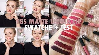 THE BODY SHOP MATTE LIP LIQUID | SWATCHE + TEST