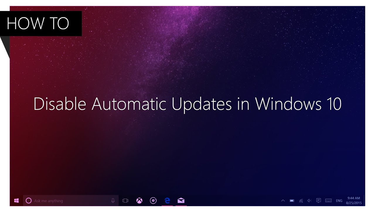 Turn off or Disable Automatic App Updates in Windows 8.1