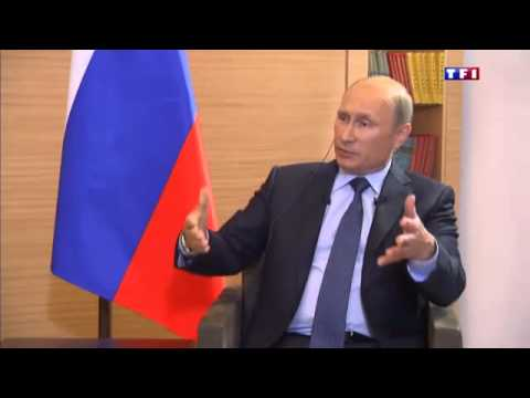 Interview par TF1 et EUROPE 1 Vladimir Poutine