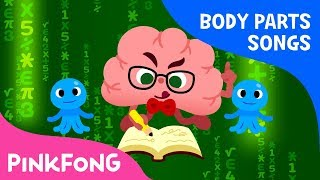Brain - The Captain Brain | Body Parts Songs | Pinkfong Songs for Children