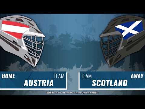 Austria vs Scotland Lacrosse - 1st Quarter