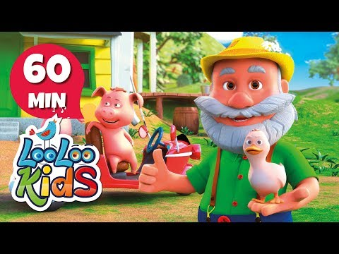 Old MacDonald Had a Farm - GREAT Songs for Children | LooLoo Kids