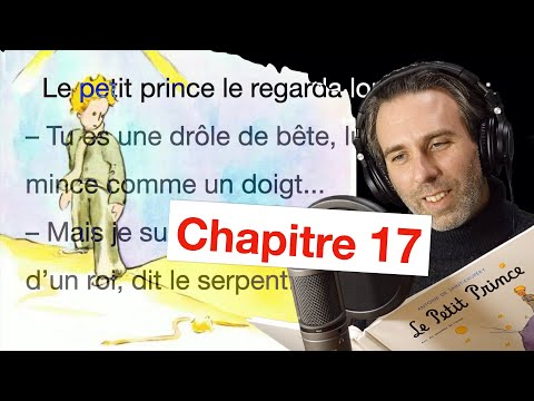Le Petit Prince Chapitre 17 星の王子様  フランス語を読む練習と発音  朗読