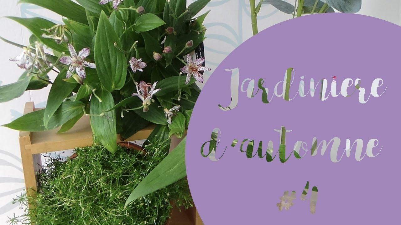 jardiniere d automne jardini re d 39 automne fleurie pour terrasse ombrag e