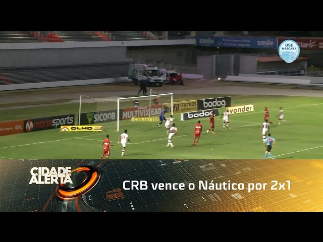 Futebol: CRB vence o Náutico por 2x1