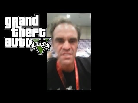 GTA V - Real Life Trevor Tells Guy To Go F*ck Himself