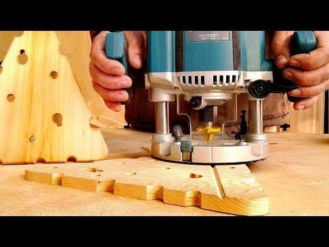 Фрезерование и изготовление большой доски для нарезки сыра с пазом