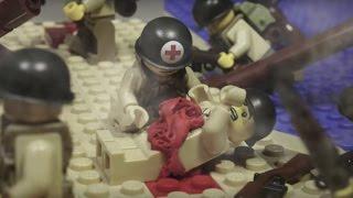 Lego ww2 Normandy D-Day / Лего война мультфильм, высадка американцев в Нормандии
