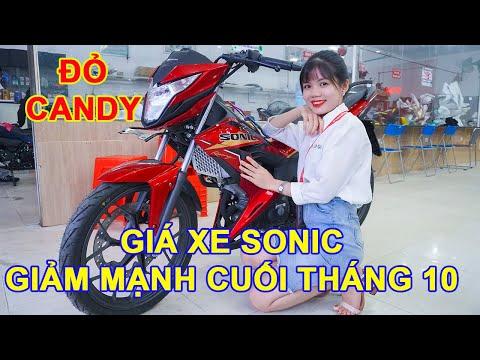Sonic 2020 Đỏ Candy / Giá xe Giảm cuối tháng 10