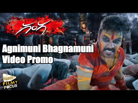 Ganga (Muni 3) Agnimuni Bhagnamuni Promo Song || Raghava Lawrence,Tapasee