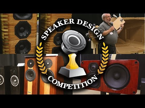 Speaker Building Competition 2017 - Parts Express Midwest Audiofest