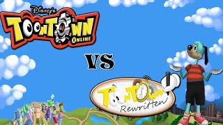 Toontown: Original vs Rewritten!