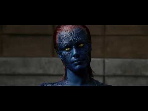 Evil Mystique Interrogation scene