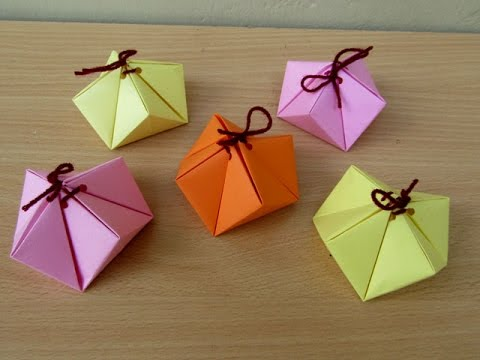 How To Make A Paper Special Gift Box